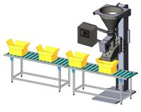 CentriFill 1000 for manual filling of various containers