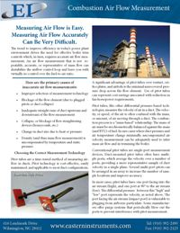 Combustion Air Flow Merasurement in Power Plants