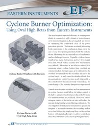 Cyclone Boiler Optimization