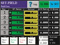Field Cal Screen Shot