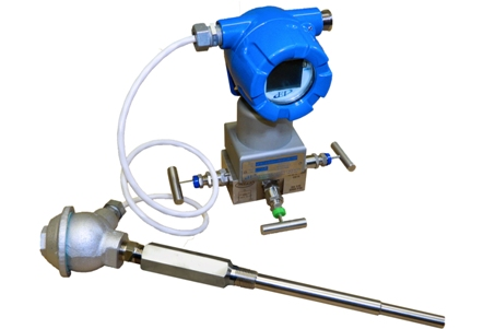 QVT Multivariable Smart Transmitter for measuring the velocity pressure or Differential Pressure across any flow element in order to measure the flow of air through a duct